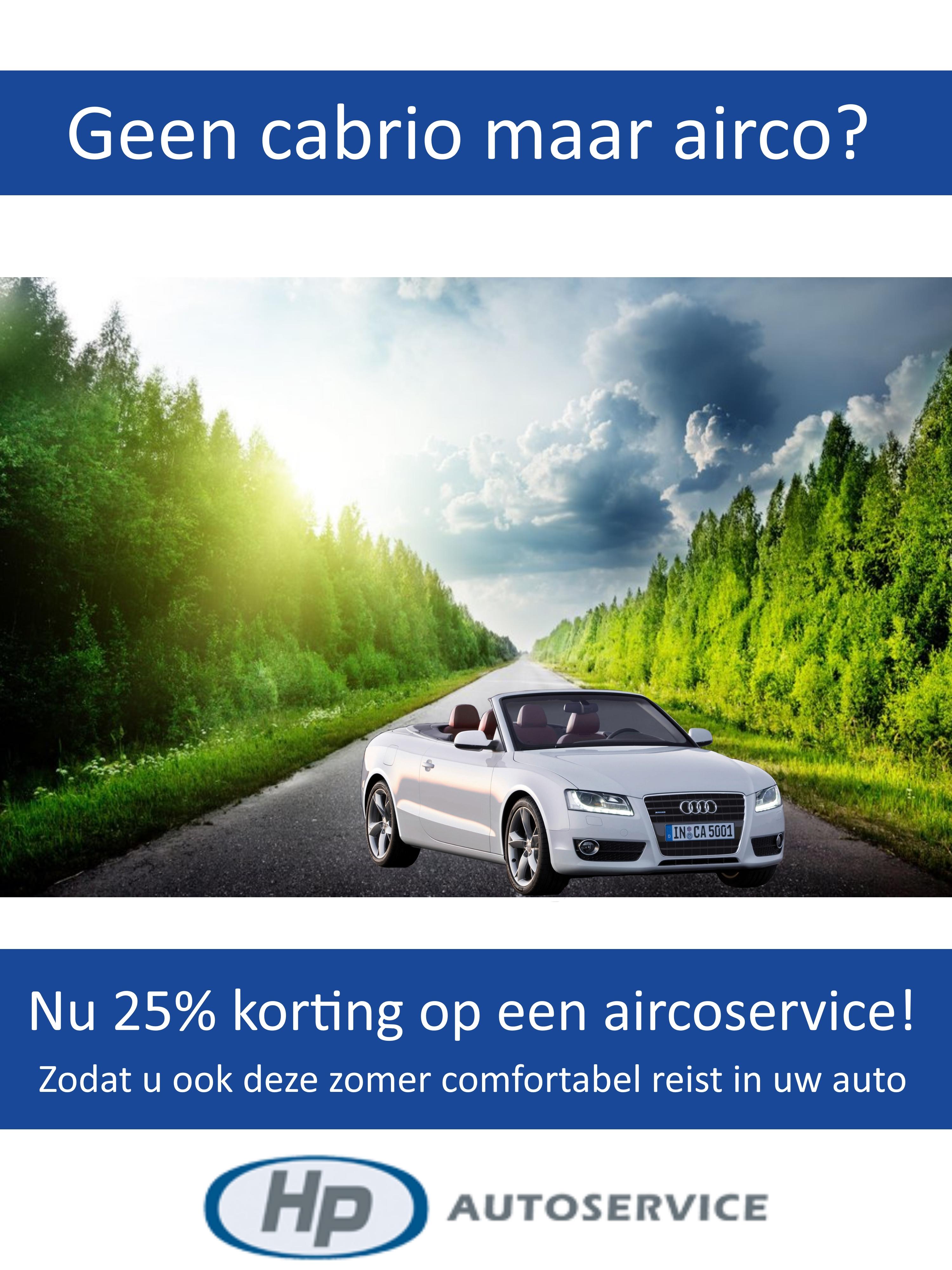 airco actie HP autoservice