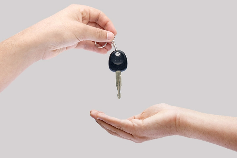 geef kind sleutel